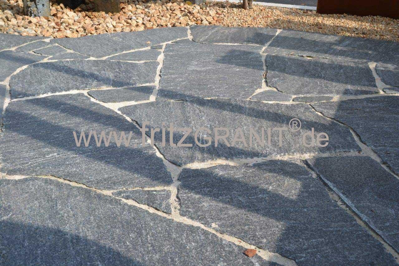 Polygonalplatten Fritzgranit